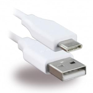 Original LG EAD63849201 Ladekabel USB auf USB Typ C - 1m - Weiss