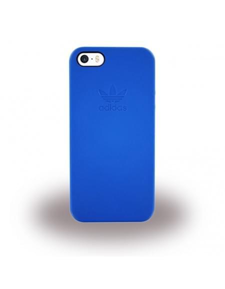 Adidas - Basics Slim - Hard Cover / Case / Schutzhülle - Apple iPhone SE,5s,5 - Blau