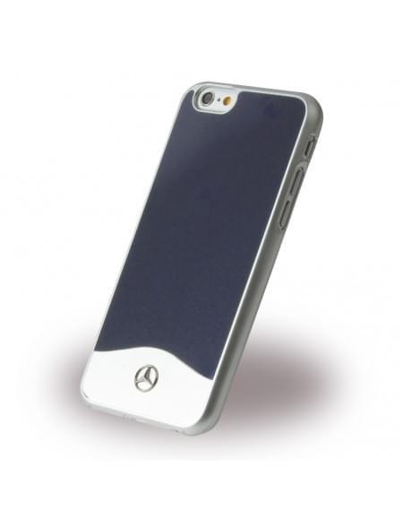 Mercedes Benz - Wave I Metallic - MEHCP6CUALNA - Hardcover / Schutzhülle - Apple iPhone 6, 6S - Blau