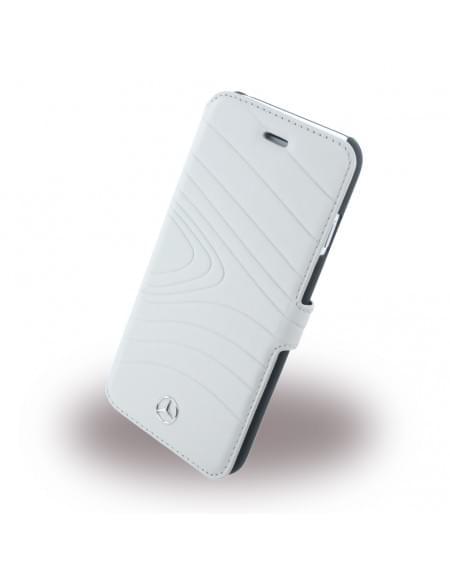 Mercedes Benz - Organic III - MEFLBKP6OLGR - Book Cover / Handytasche - Apple iPhone 6, 6S - Kristall Grau