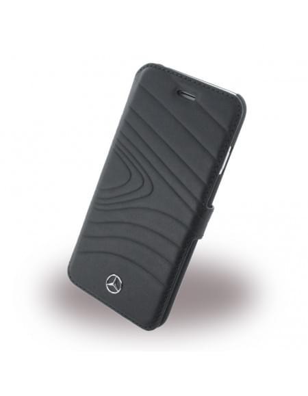 Mercedes Benz - Organic III - MEFLBKP6OLBK - Book Cover / Handytasche - Apple iPhone 6, 6S - Schwarz