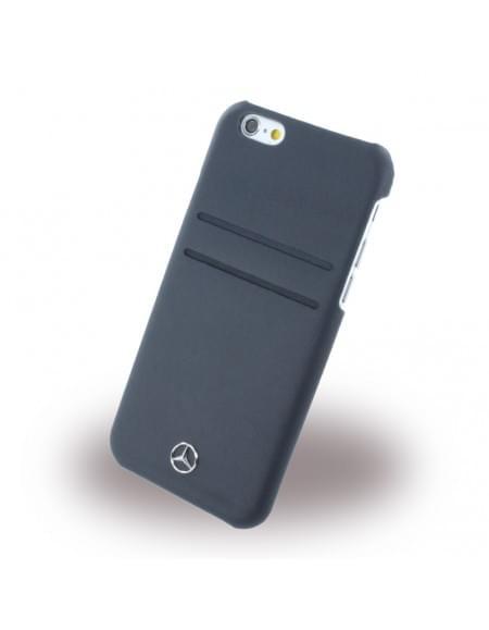 Mercedes Benz - Pure Line Leder- MEHCP6PLNA - Hardcover / Handyhülle - Apple iPhone 6, 6S - Navy