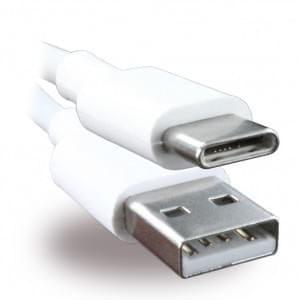 Original Huawei AP51 Ladekabel / Datenkabel USB auf USB Typ C - 1m - Weiss