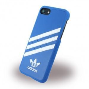 Adidas - Originals Moulded - Hardcover / Handyhülle / Schutzhülle - Apple iPhone 7 - Blau/Weiss