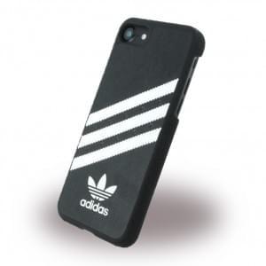 Adidas - Originals Moulded - Hardcover / Handyhülle / Schutzhülle - Apple iPhone 7 - Schwarz/Weiss