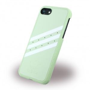 Adidas - Originals Moulded - Hardcover / Handyhülle / Schutzhülle - Apple iPhone 7 - Vapour Grün/Weiss