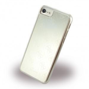 Guess - 4G Metallic Hard Cover / Case / Schutzhülle - Apple iPhone 7 / 8 - Gold