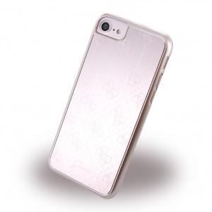 Guess - 4G Metallic GUHCP7MEPI - Hard Cover / Case / Schutzhülle - Apple iPhone 7 - Rose Gold