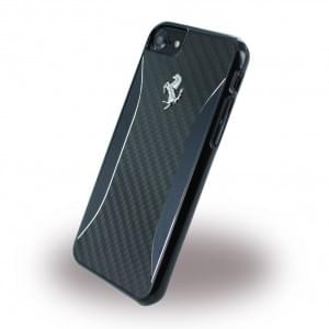 Ferrari - FERCHCP7BK GT Experience - Hardcover / Case / Handyhülle - Apple iPhone 7 - Schwarz