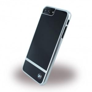 BMW - BMHCP7LASBK - Aluminium Stripe - Hardcover / Case / Handyhülle - Apple iPhone 7 Plus - Schwarz