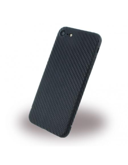 nevox CS 1347 - Carbon Hardcover / Hardcase/ Handy Hülle - Apple iPhone 7 - Schwarz
