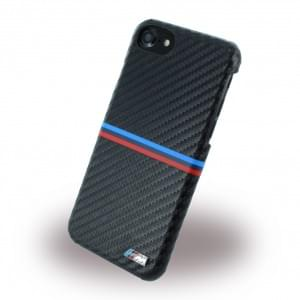 BMW - BMHCP7MSSCA - Carbon Inspiration - Hard Cover / Hülle / Case - Apple iPhone 7 - Schwarz