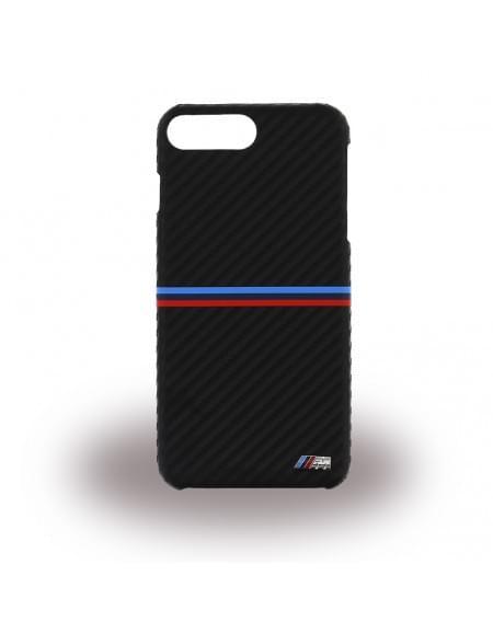 BMW - BMHCP7LMSSCA - Carbon Inspiration - Hard Cover / Hülle / Case - Apple iPhone 7 Plus - Schwarz