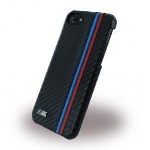 BMW - BMHCP7MC - Carbon Effect - Hard Cover / Hülle / Case - Apple iPhone 7 - Schwarz