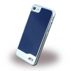 BMW - BMHCP7MDBL - Brushed Metal - Hardcover / Case / Handyhülle - Apple iPhone 7 - Blau