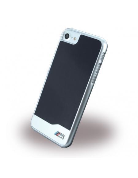 BMW - BMHCP7MDBK - Brushed Metal - Hardcover / Case / Handyhülle - Apple iPhone 7 - Schwarz