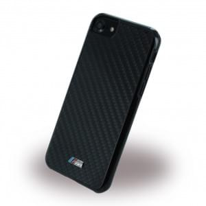 BMW - BMHCP7LMSSCA - Real Carbon Fiber - Hard Cover / Hülle / Case - Apple iPhone 7 - Schwarz