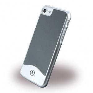 Mercedes Benz - Wave I Metallic - MEHCP7CUALGR - Hardcover / Handyhülle - Apple iPhone 7 - Tenorite