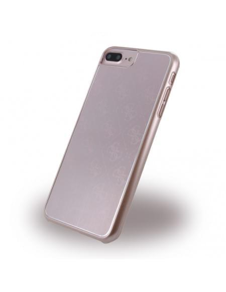 Guess - 4G Metallic GUHCP7LMEPI - Hard Cover / Case / Schutzhülle - Apple iPhone 7 Plus - Rose Gold