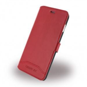 Cerruti 1881 - CEFLBKP7SLRE - Smooth Split - Kunstleder Handytasche / Book Cover - Apple iPhone 7 - Rot