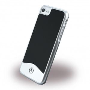 Mercedes Benz - Wave I Metallic - MEHCP7CUALBK - Hardcover / Handyhülle - Apple iPhone 7 - Schwarz
