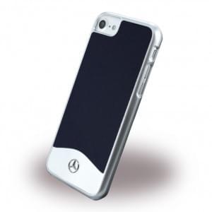 Mercedes Benz - Wave I Metallic Hardcover / Handyhülle - Apple iPhone 7 / 8 - Blau