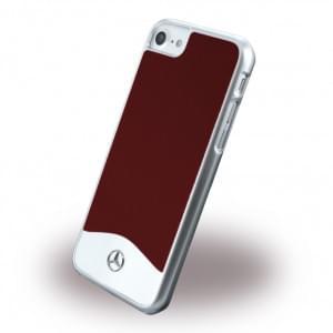 Mercedes Benz - Wave I Metallic Hardcover / Handyhülle - Apple iPhone 7 / 8 - Fire Opal