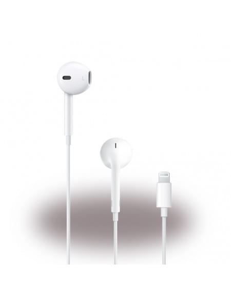Original Apple - MMTN2ZM/A EarPods - In Ear Headset / Kopfhörer - Lightning Anschluss - Weiss