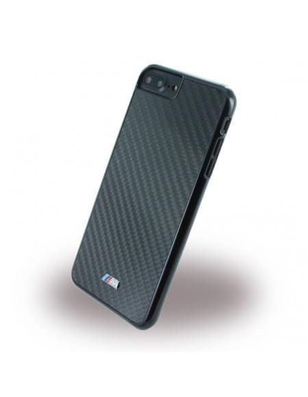 BMW - BMHCP7LMCA - Carbon Inspiration - Hard Cover / Hülle / Case - Apple iPhone 7 Plus - Schwarz