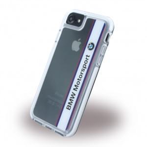 BMW - Shockproof Vertical Logo BMHCP7SPVWH - Hard Cover / Case / Schutzhülle - Apple iPhone 7 - Weiss