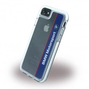 BMW - Shockproof Vertical Logo BMHCP7SPVNA - Hard Cover / Case / Schutzhülle - Apple iPhone 7 - Navy/Weiss