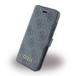 Guess - 4G Uptown GUFLBKP74GG - Book Cover / Handytasche - Apple iPhone 7 - Grau