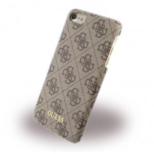 Guess - 4G Uptown Hard Cover / Case / Schutzhülle - Apple iPhone 7 / 8 - Braun