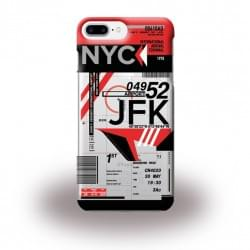 Benjamins AirPort JFK New York Silikon Cover / Schutzhülle - Apple iPhone 8 Plus / 7 Plus