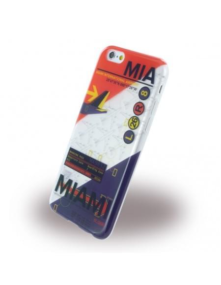 Benjamins - BJ6AIRMIA AirPort MIA Miami - Silikon Cover / Schutzhülle - Apple iPhone 6, 6S