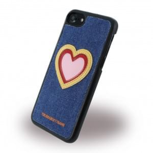 Trussardi Hardcover / Handyhülle - Apple iPhone 7 / 8 - Heart Jeans