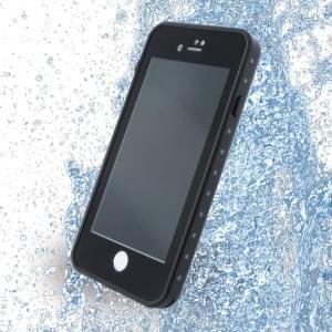 Redpepper - Wasserfeste Shockproof Schutzhülle / Cover / Case - Apple iPhone 7 / 8 - Schwarz