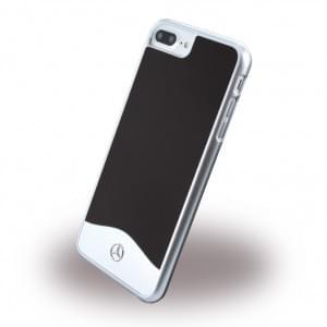 Mercedes Benz - Wave I Metallic - MEHCP7LCUALBK - Hardcover / Handyhülle - Apple iPhone 7 Plus - Schwarz
