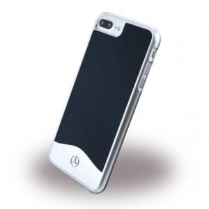 Mercedes Benz - Wave I Metallic - MEHCP7LCUALNA - Hardcover / Handyhülle - Apple iPhone 7 Plus - Blau