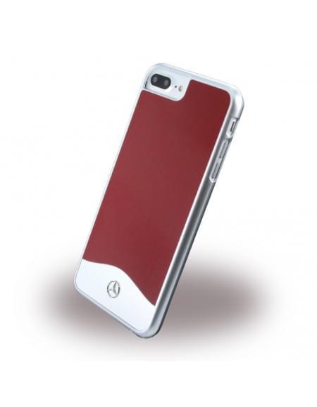 Mercedes Benz - Wave I Metallic - MEHCP7LCUALRE - Hardcover / Handyhülle - Apple iPhone 7 Plus - Feuer Opal