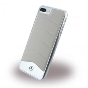 Mercedes Benz - Wave III Aluminium MEHCP7LCUSGR - Handyhülle - Apple iPhone 7 Plus - Crystal Grau