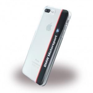 BMW - Motorsport BMHCP7LTVNA - Silikon Cover - Apple iPhone 7 Plus - Transparent Navy