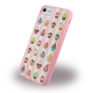 Benjamins - BJ7CUP - Silikon Cover / Hülle - Apple iPhone 7 - Cupcake