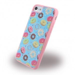 Benjamins - BJ7DUN - Silikon Cover / Hülle - Apple iPhone 7 - Donuts