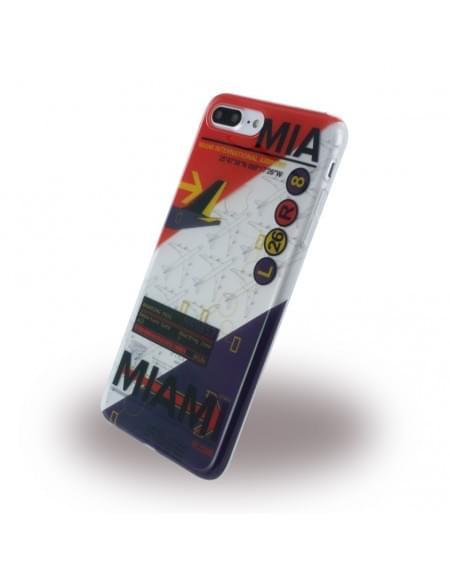 Benjamins - BJ7PAIRMIA - Silikon Cover / Hülle - Apple iPhone 7 Plus - Airport MIA Miami