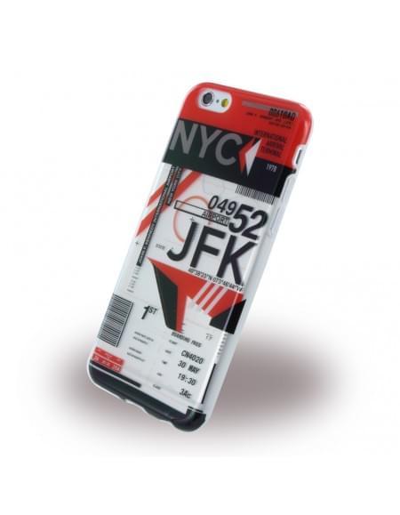 Benjamins - BJ6AIRJFK - Silikon Cover / Hülle - Apple iPhone 6, 6s - Airport JFK New York