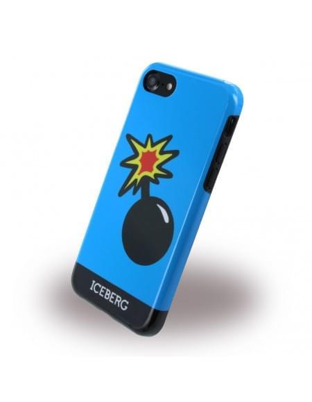 Iceberg - ICE7BOMB - Silikon Cover / Hülle - Apple iPhone 7 - Bomb