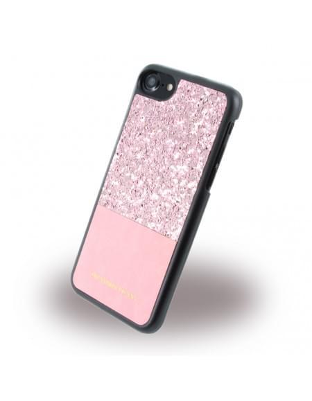 Trussardi - Double Rigid TRU7DOUBLEP - Hardcover - Apple iPhone 7 - Pink