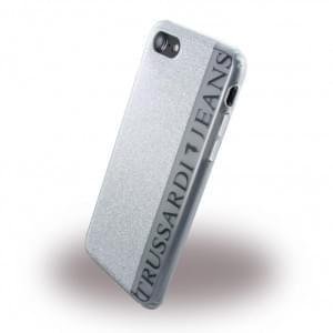 Trussardi Glitter - Silikon Cover - Apple iPhone 7 / 8 - Silber