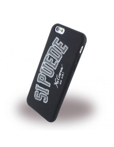 Si Puede - C6SIPUEDE - Silikon Handyhülle - Apple iPhone 6, 6s - Schwarz